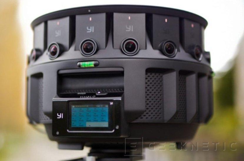 Yi Halo, una cámara de 360 grados 8K  por 17.000 Dólares, Imagen 1
