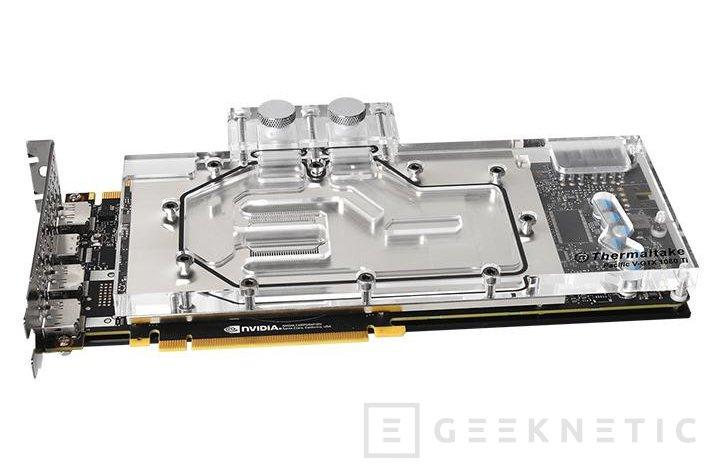 Thermaltake anuncia el bloque de refrigeración Pacific V para GTX 1080 Ti, Imagen 1