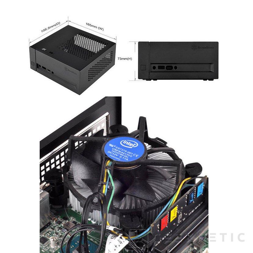 SilverStone lanza esta torre Mini-STX para los amantes de los PCs compactos, Imagen 1