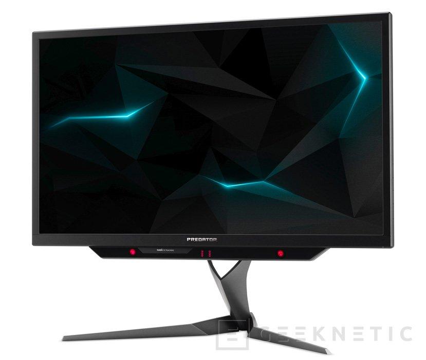 4K, 144 Hz y HDR en los nuevos monitores Acer Predator X27, Imagen 1