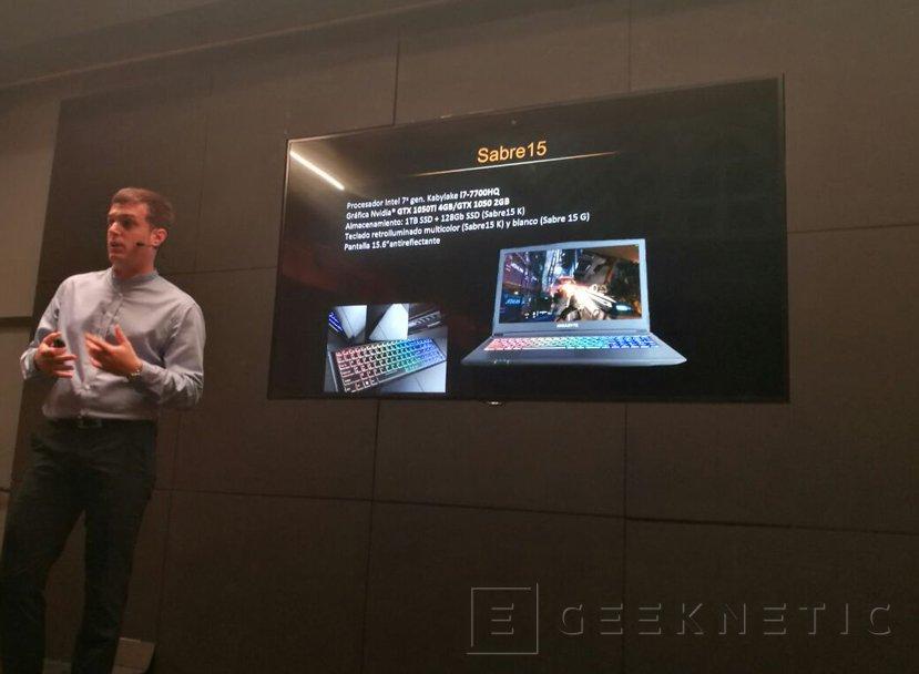 Llegan los portátiles gaming asequibles Gigabyte Sabre15, Imagen 2