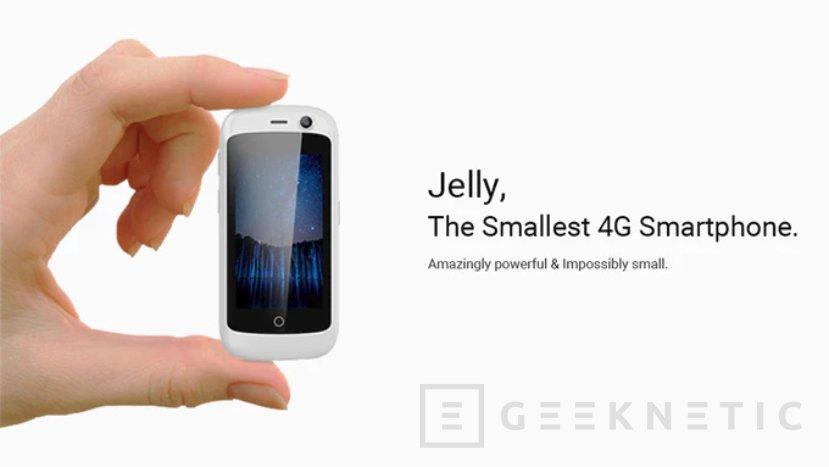 """Con tan solo 2,45"""", el Jelly trae de vuelta a los smartphones compactos, Imagen 1"""