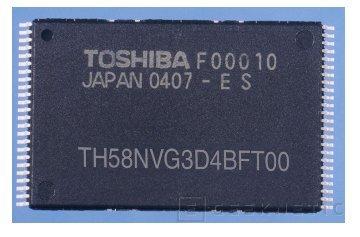 Toshiba presenta su nueva memoria flash de 4GB, Imagen 1