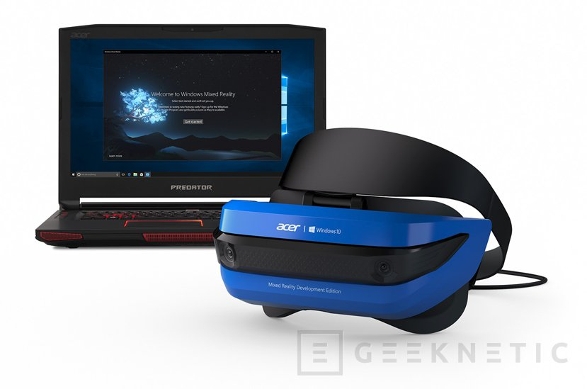 HP y ACER hacen asequible la realidad virtual con sus gafas Windows Mixed Reality, Imagen 1