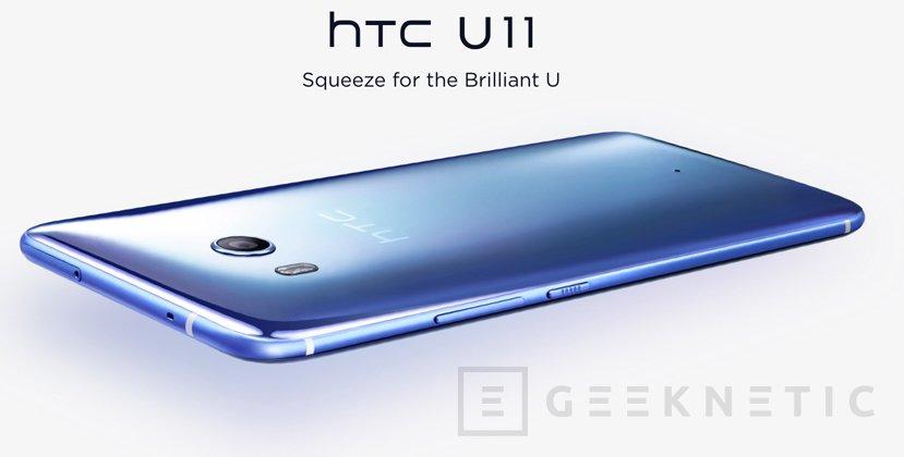 El HTC U11 presume de la mejor cámara del mercado, Imagen 1