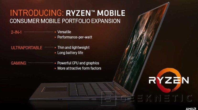 AMD Ryzen y Vega llegarán a portátiles a finales de año, Imagen 1