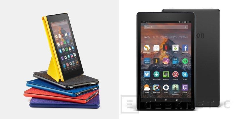 Amazon actualiza sus tablets Fire 7 y Fire HD 8, Imagen 1