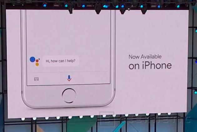 Google Assistant llega a los iPhones, Imagen 1
