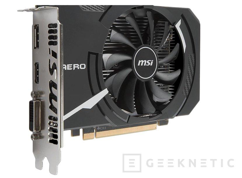 MSI Radeon RX 560 Aero en formato ITX, Imagen 1