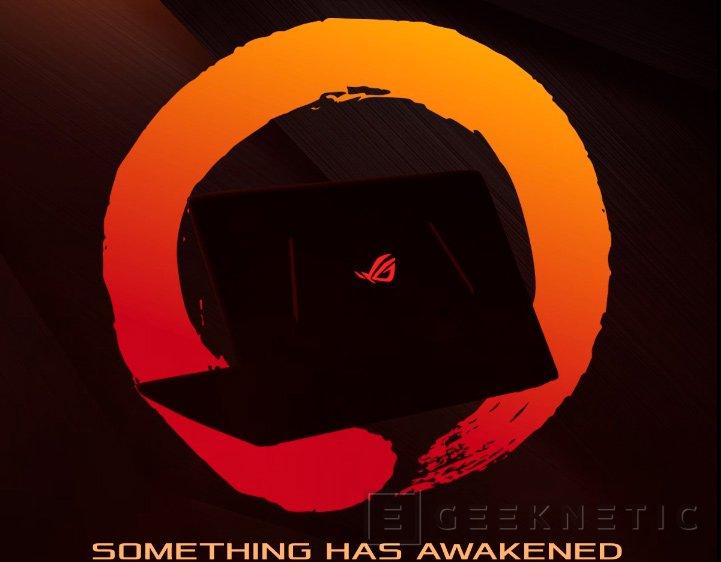 ASUS deja ver un portátil gaming con procesador AMD RYZEN, Imagen 1