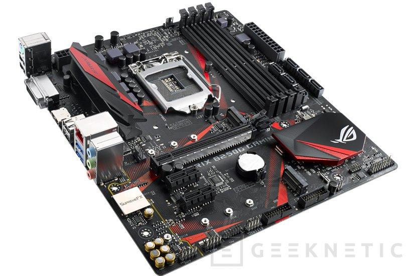 ASUS lanza sus placas ROG Strix B250H y B250G Gaming, Imagen 1