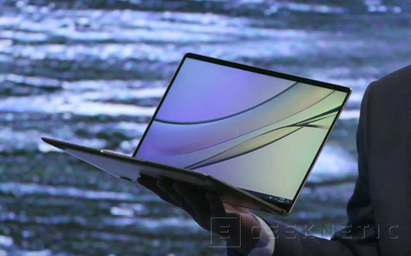 Huawei entra en el mercado de portátiles con el MateBook X, Imagen 1