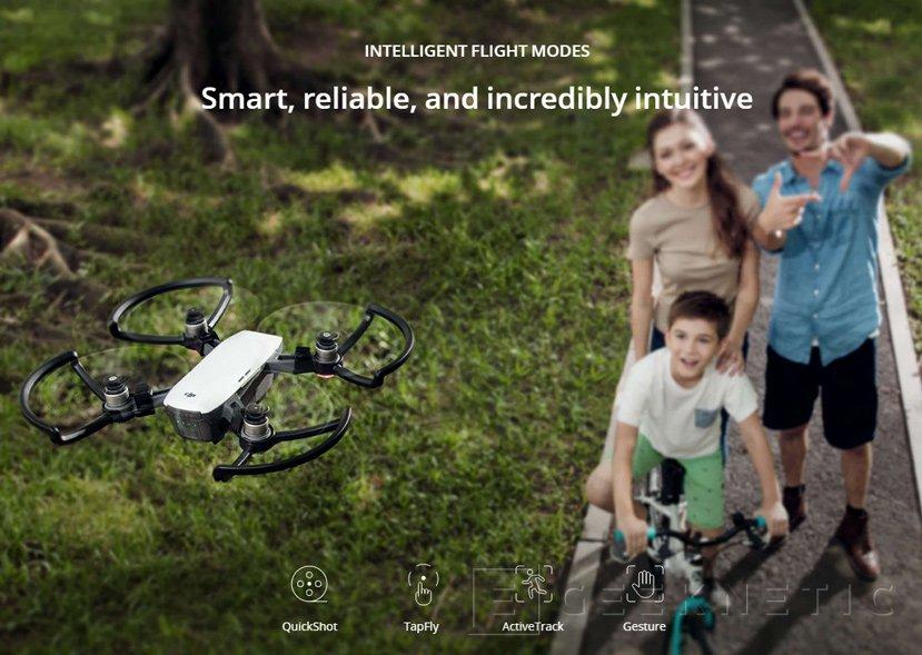 DJI anuncia Spark, un pequeño drone con control por gestos, Imagen 1