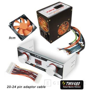 El TWV480 permitirá controlar los watios consumidos por nuestro ordenador, Imagen 1