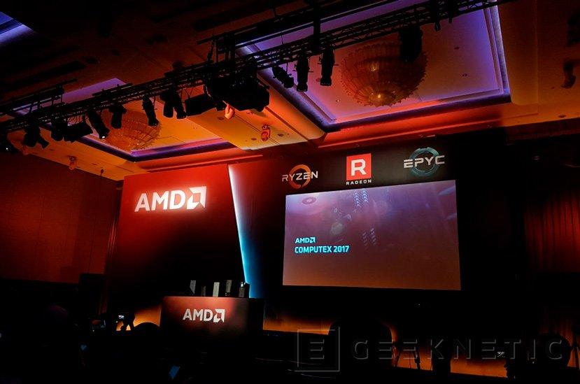 RYZEN, EPIC y VEGA, Evento de AMD en el Computex 2017, Imagen 1