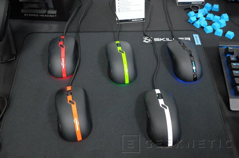 Sharkoon SharkForce Pro, ratón óptico gaming por solo 19 Euros, Imagen 1