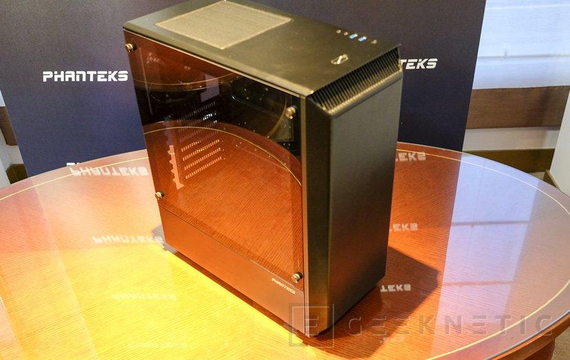 Phanteks Eclipse P300, posiblemente no encontrarás una caja con cristal templado más barata, Imagen 1