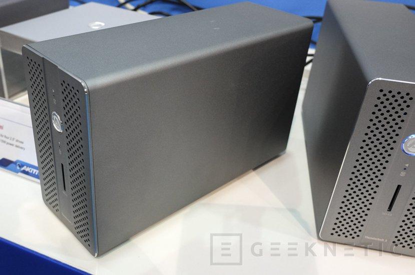 Akitio nos enseña su caja externa para discos Thunder3 RAID Station, Imagen 1