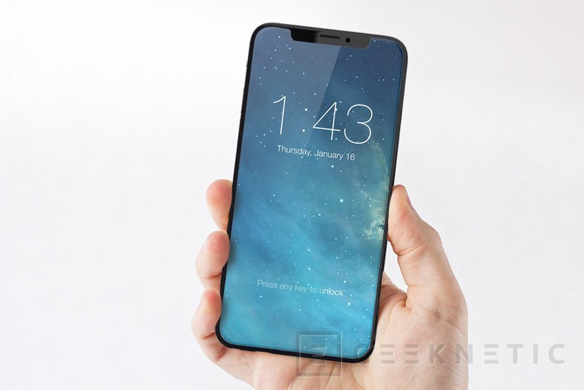 El iPhone 8 apenas tendrá marcos en el frontal, Imagen 1