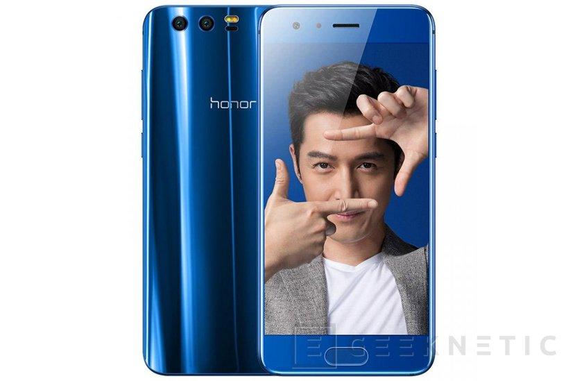El Huawei Honor 9 llega a España por 449 Euros, Imagen 1
