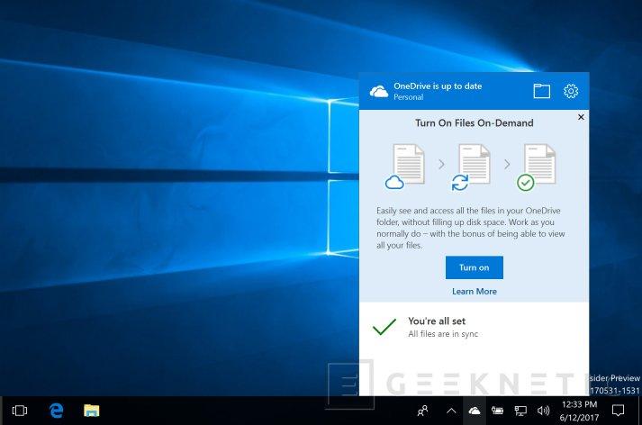 Microsoft devuelve los archivos bajo demanda a Onedrive, Imagen 1