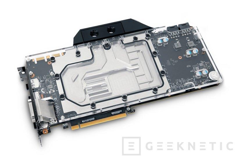 La GTX 1080 Ti FTW3 de EVGA recibe su bloque de refrigeración líquida de EK, Imagen 1