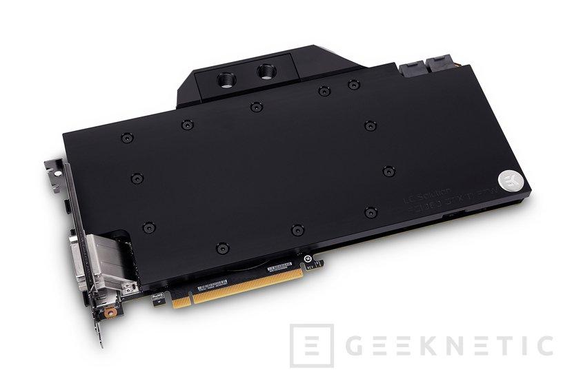 La GTX 1080 Ti FTW3 de EVGA recibe su bloque de refrigeración líquida de EK, Imagen 2