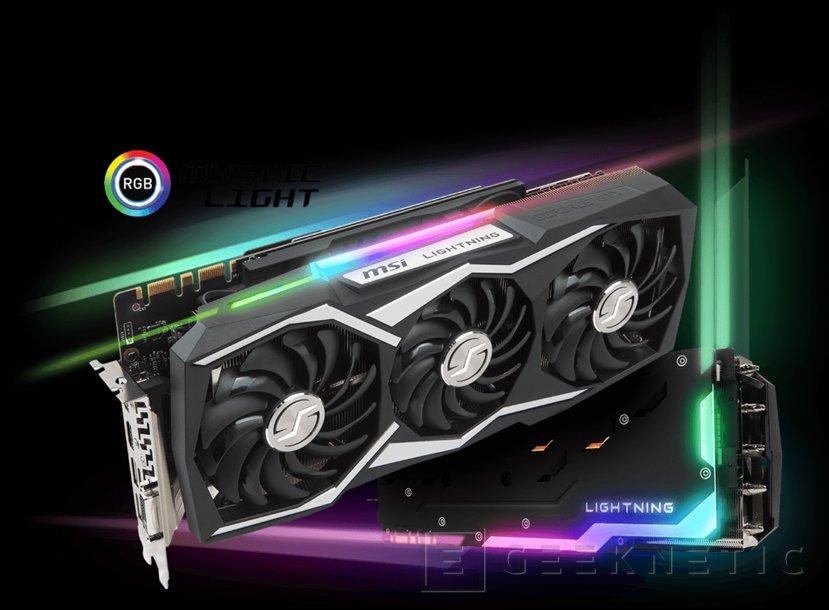 MSI GTX 1080 Ti Lightning Z con 14 VRM y alto potencial de overclock, Imagen 2