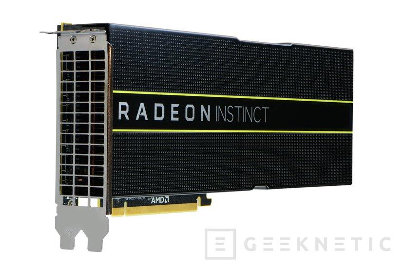Vega, Polaris y Fiji conviven en los nuevos aceleradores AMD Radeon Instinct, Imagen 1