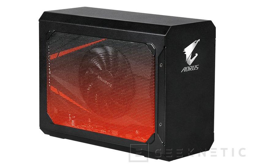 Convierte tu portátil en un sobremesa con la AORUS GTX 1070 Gaming Box, Imagen 1