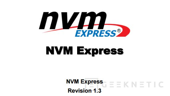 NVMe 1.3 soporta PCIe 4.0 con el doble de ancho de banda, Imagen 1
