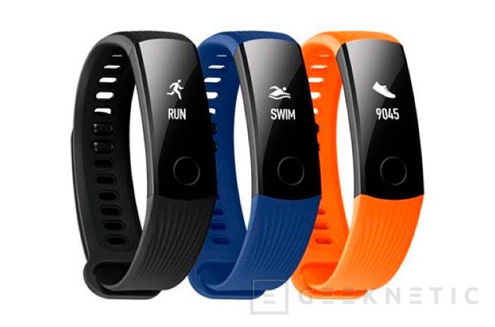 Honor Band 3, así es la económica pulsera de actividad de Huawei, Imagen 1
