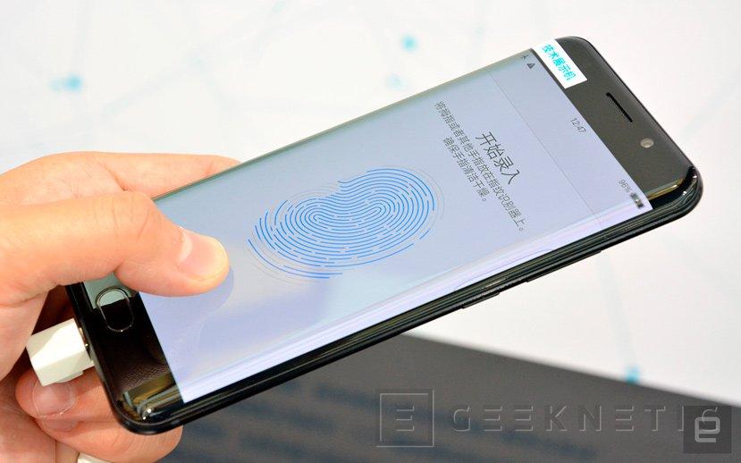 Vivo es la primera en implementar un sensor de huellas en la pantalla, Imagen 1