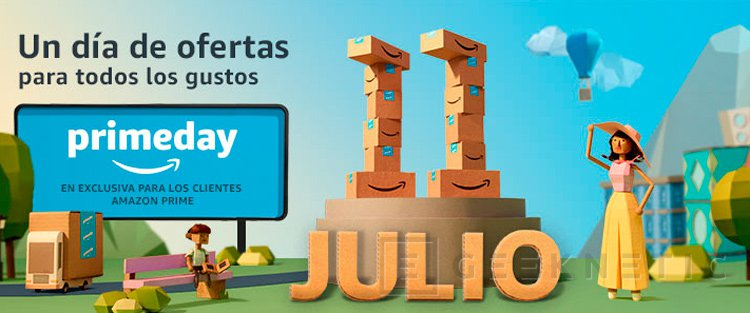 El 10 de julio llegarán las ofertas de Amazon Prime Day, Imagen 1