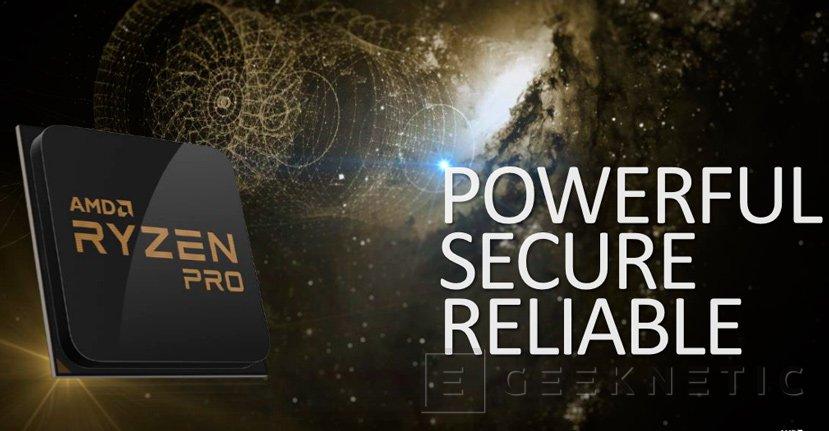 La arquitectura ZEN llega al mercado empresarial con las CPU AMD RYZEN PRO, Imagen 1