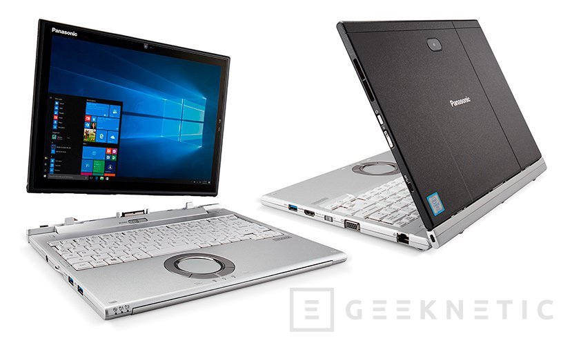 Panasonic ToughBook CF-XZ6, un 2 en 1 que podrás maltratar, Imagen 1