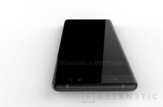 Doble cámara y sensor de huellas trasero para el Note 8, Imagen 1