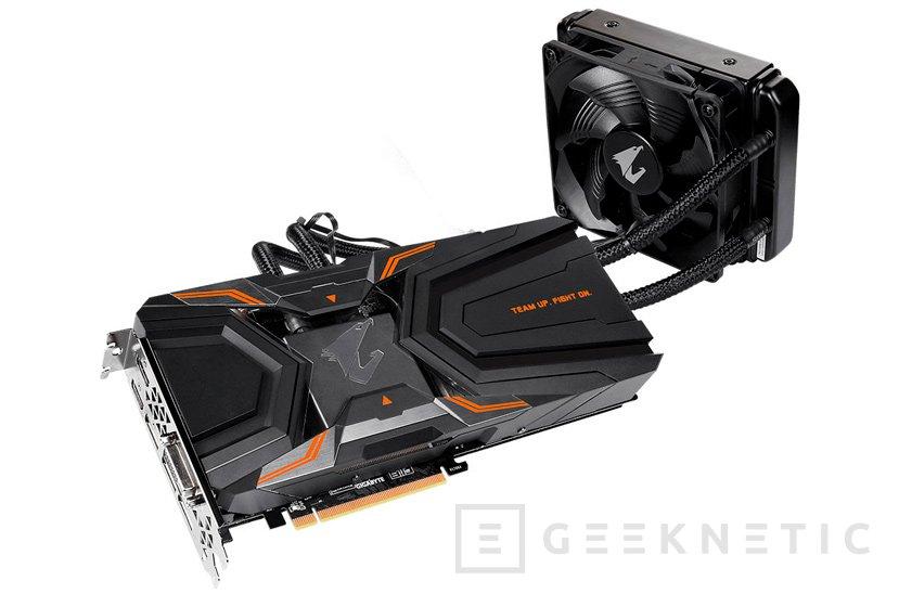 La Gigabyte Aorus GTX 1080 Ti WaterForce Xtreme lleva su propio sistema de RL completo, Imagen 1