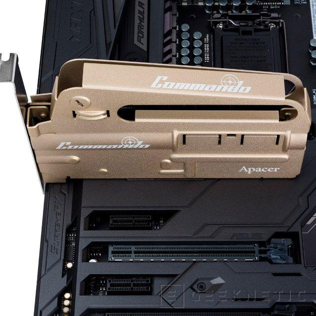 Apacer PT920 Commando, un SSD NVMe con forma de fusil de asalto, Imagen 2