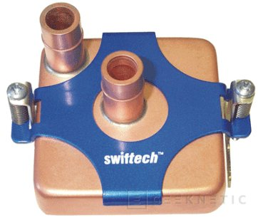 MCW6002 es un adaptable bloque de refrigeración líquida de Swiftech, Imagen 1