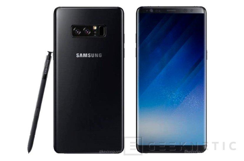 Samsung presentará el Galaxy Note 8 el 23 de agosto, Imagen 2