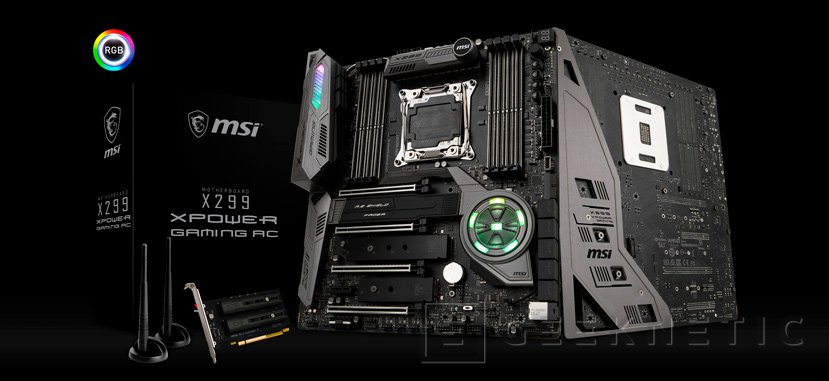 14 fases VRM para la MSI X299 XPOWER GAMING AC, Imagen 1