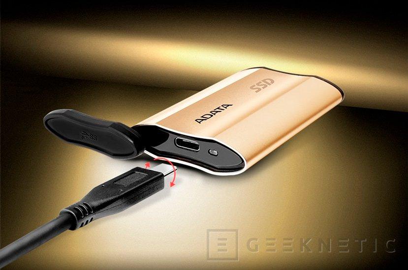 ADATA SE730H, un SSD externo con USB-C 3.1 y resistencia IP68, Imagen 1
