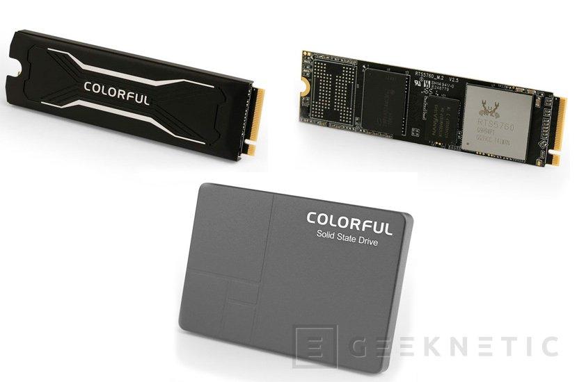 Colorful lanza varios SSD SATA y PCIe de gama económica, Imagen 1