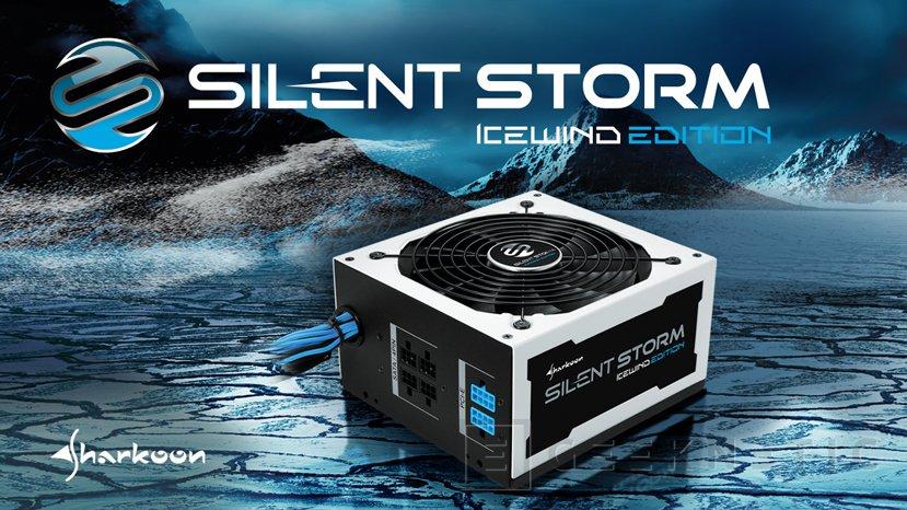 Sharkoon SilentStorm IceWind, fuentes semi-modulares 80 PLUS Bronze, Imagen 1