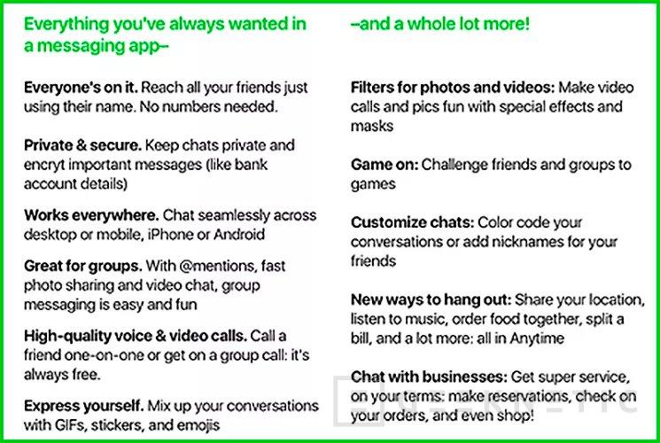 Amazon trabaja en su propio servicio de mensajería instantánea, Imagen 2