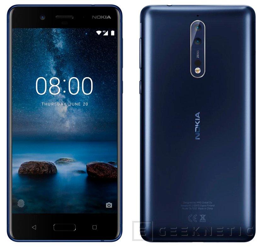 El Nokia 8 recibe la actualización a Android Oreo 8, Imagen 1