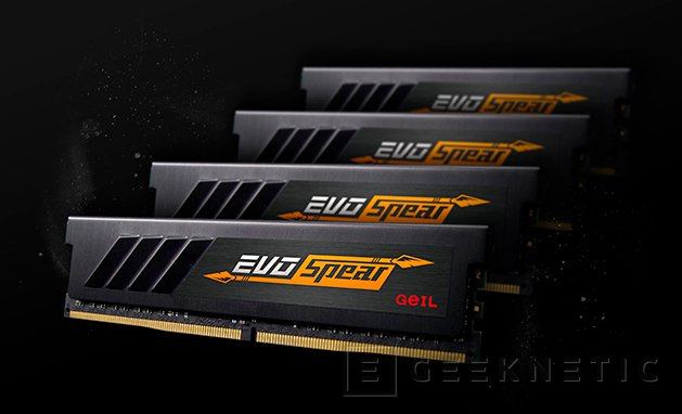 GEIL EVO Spear, memorias DDR4 para plataforma Intel y AMD, Imagen 1
