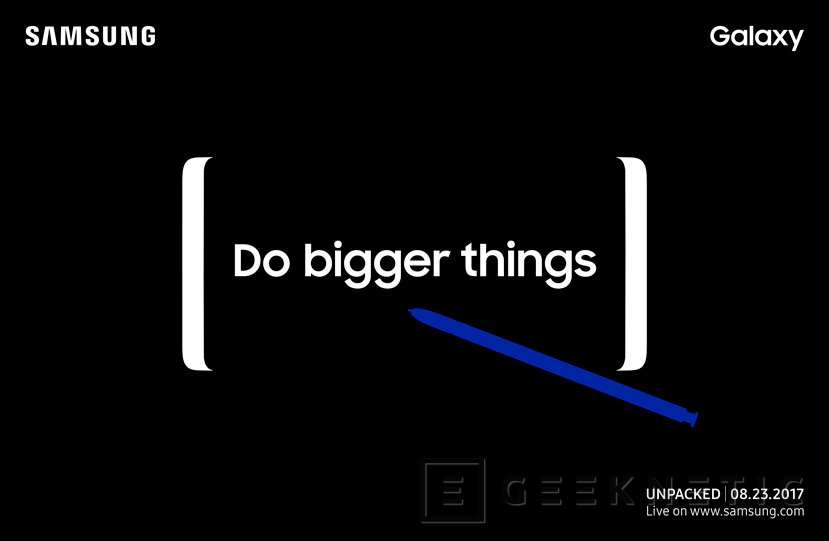 Samsung presentará el Galaxy Note 8 el 23 de agosto, Imagen 1