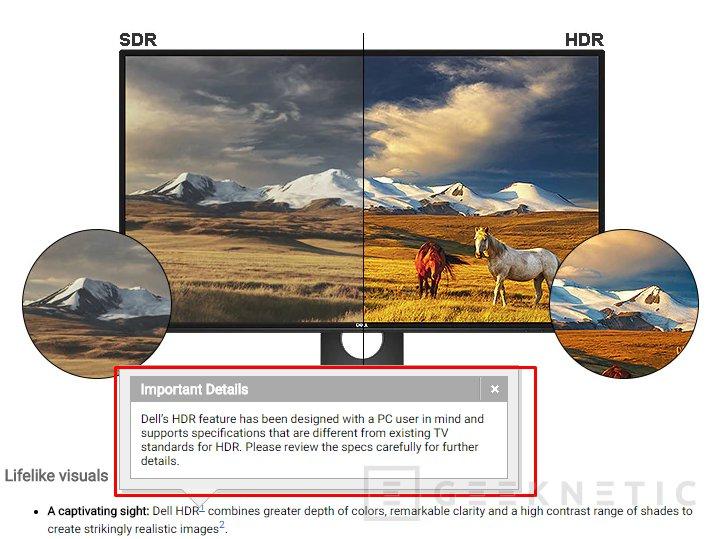 El monitor Dell U2518D no tiene HDR real a pesar de lo anunciado, Imagen 1